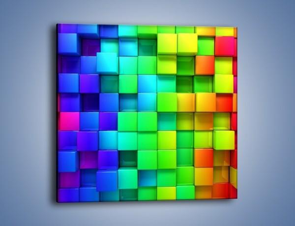 Obraz na płótnie – Niektóre mocno wysunięte – jednoczęściowy kwadratowy GR385