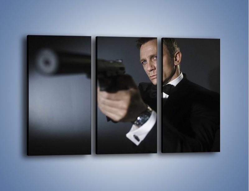 Obraz na płótnie – Bond. james bond – trzyczęściowy L239W2
