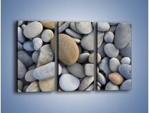 Obraz na płótnie – Kamienie duże i małe – trzyczęściowy O006W2