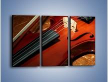 Obraz na płótnie – Instrument i muzyka poważna – trzyczęściowy O025W2
