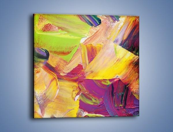Obraz na płótnie – Maznąć z wyczuciem – jednoczęściowy kwadratowy GR391