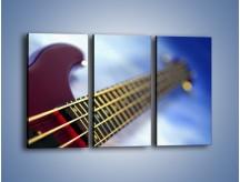 Obraz na płótnie – Gitara z bliska – trzyczęściowy O088W2