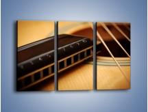 Obraz na płótnie – Instrumenty z drewna – trzyczęściowy O108W2