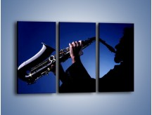 Obraz na płótnie – Koncert na saksofonie – trzyczęściowy O110W2