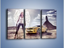 Obraz na płótnie – Chevrolet Camaro – trzyczęściowy TM079W2