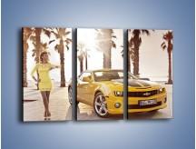 Obraz na płótnie – Chevrolet Camaro Coupe Europe – trzyczęściowy TM083W2