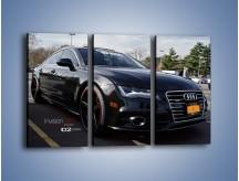 Obraz na płótnie – Audi A7 D2forged Wheels – trzyczęściowy TM099W2