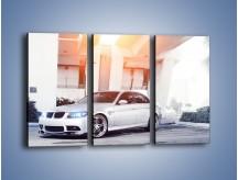 Obraz na płótnie – BMW 3 E90 – trzyczęściowy TM112W2