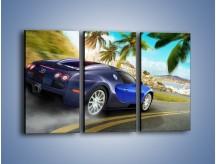 Obraz na płótnie – Bugatti Veyron – trzyczęściowy TM123W2