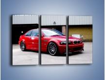 Obraz na płótnie – BMW M3 E46 Coupe – trzyczęściowy TM125W2