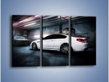 Obraz na płótnie – BMW M6 F13 w garażu – trzyczęściowy TM165W2