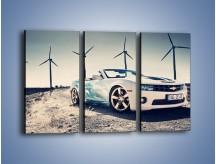 Obraz na płótnie – Chevrolet Camaro Cabrio – trzyczęściowy TM173W2