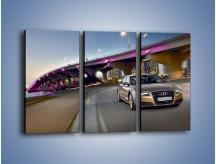 Obraz na płótnie – Audi A8 – trzyczęściowy TM188W2