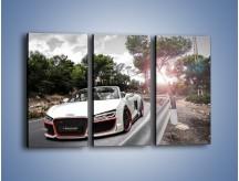Obraz na płótnie – Audi R8 V10 Spyder – trzyczęściowy TM209W2