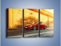 Obraz na płótnie – BMW 3 F35 – trzyczęściowy TM235W2