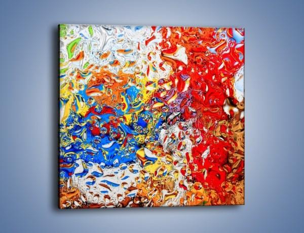 Obraz na płótnie – Każdy kolor coś znaczy – jednoczęściowy kwadratowy GR407