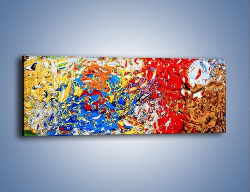 Obraz na płótnie – Każdy kolor coś znaczy – jednoczęściowy panoramiczny GR407