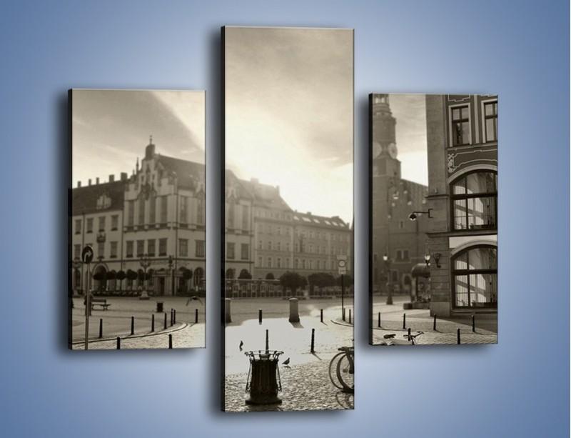 Obraz na płótnie – Rynek Starego Miasta – trzyczęściowy AM136W3