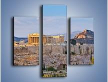 Obraz na płótnie – Ateńskie ruiny – trzyczęściowy AM162W3