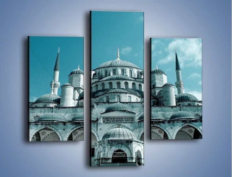 Obraz na płótnie – Taj Mahal – trzyczęściowy AM175W3
