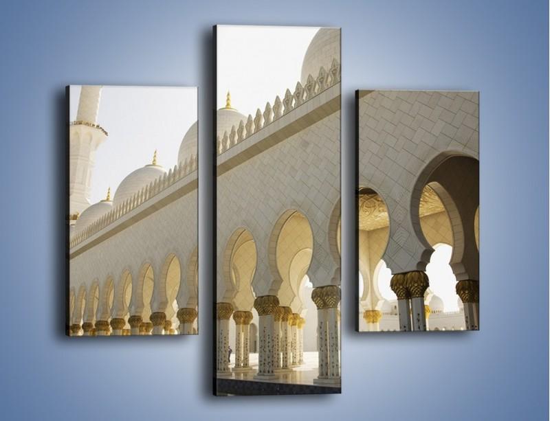 Obraz na płótnie – Bliskowschodnia architektura – trzyczęściowy AM177W3
