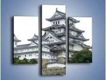 Obraz na płótnie – Azjatycka architektura – trzyczęściowy AM181W3