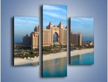 Obraz na płótnie – Atlantis Hotel w Dubaju – trzyczęściowy AM341W3