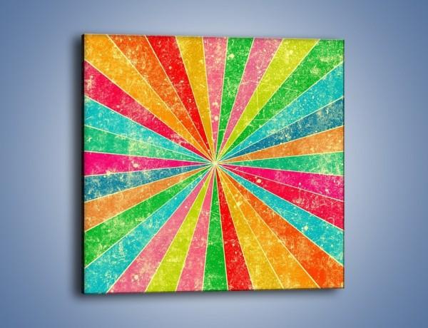 Obraz na płótnie – W każdą stronę kolor – jednoczęściowy kwadratowy GR419