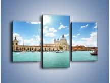 Obraz na płótnie – Canal Grande w Wenecji – trzyczęściowy AM449W3