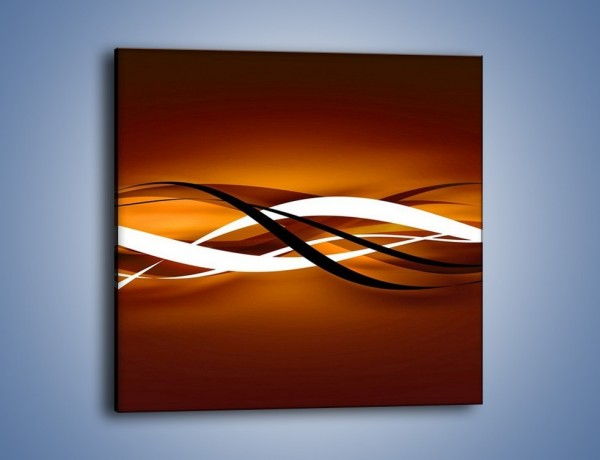 Obraz na płótnie – Harmonia w ruchu – jednoczęściowy kwadratowy GR421