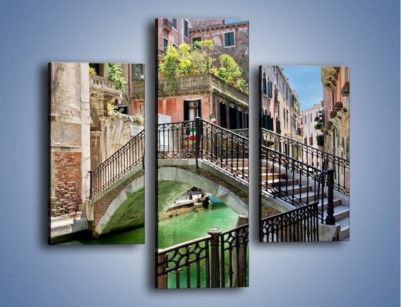 Obraz na płótnie – Wenecki most – trzyczęściowy AM523W3