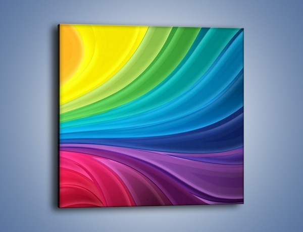 Obraz na płótnie – Zachowane kolory tęczy – jednoczęściowy kwadratowy GR424