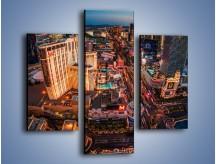 Obraz na płótnie – Centrum Las Vegas – trzyczęściowy AM588W3