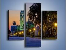 Obraz na płótnie – Balboa Park w San Diego – trzyczęściowy AM609W3