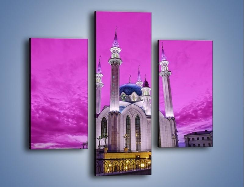 Obraz na płótnie – Meczet Kul Szarif – trzyczęściowy AM642W3