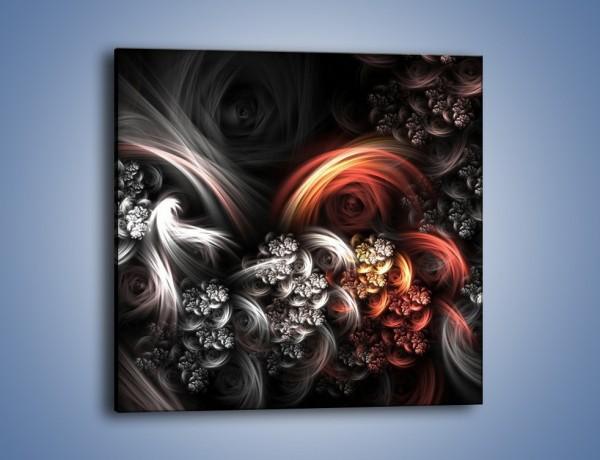 Obraz na płótnie – Ogień czy pokój – jednoczęściowy kwadratowy GR426