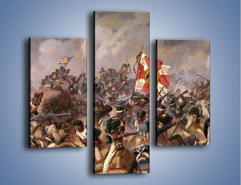 Obraz na płótnie – Wojna i jej skutki – trzyczęściowy GR133W3