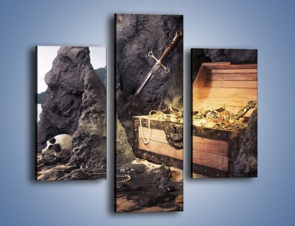 Obraz na płótnie – Skarby świeżo wydobyte – trzyczęściowy GR206W3