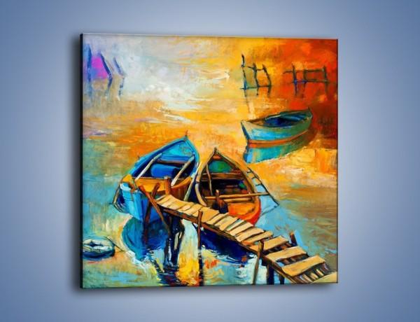 Obraz na płótnie – Bezpośrednio do łódki – jednoczęściowy kwadratowy GR439