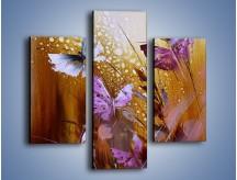 Obraz na płótnie – Delikatne małe motylki – trzyczęściowy GR471W3