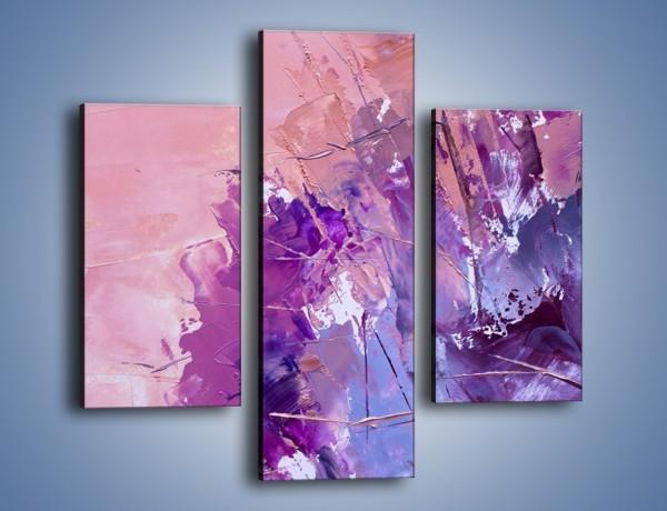 Obraz na płótnie – Mocna barwa fioletu – trzyczęściowy GR472W3