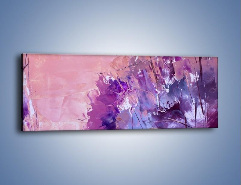 Obraz na płótnie – Mocna barwa fioletu – jednoczęściowy panoramiczny GR472