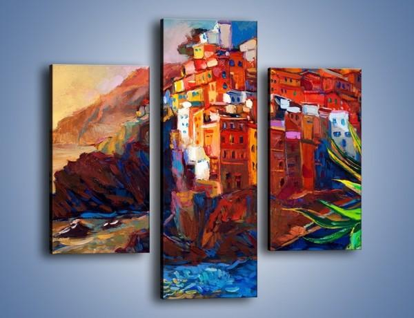 Obraz na płótnie – Portugalia okiem malarza – trzyczęściowy GR579W3