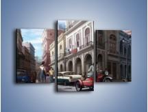 Obraz na płótnie – Codzienne życie na kubie – trzyczęściowy GR627W3