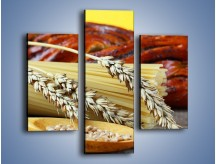 Obraz na płótnie – Chleb pszenno-kukurydziany – trzyczęściowy JN090W3