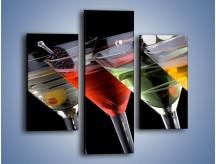 Obraz na płótnie – Alkoholowa zabawa do rana – trzyczęściowy JN100W3