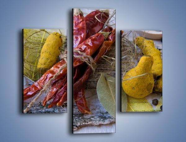 Obraz na płótnie – Pikantno-słodkie smaki – trzyczęściowy JN135W3