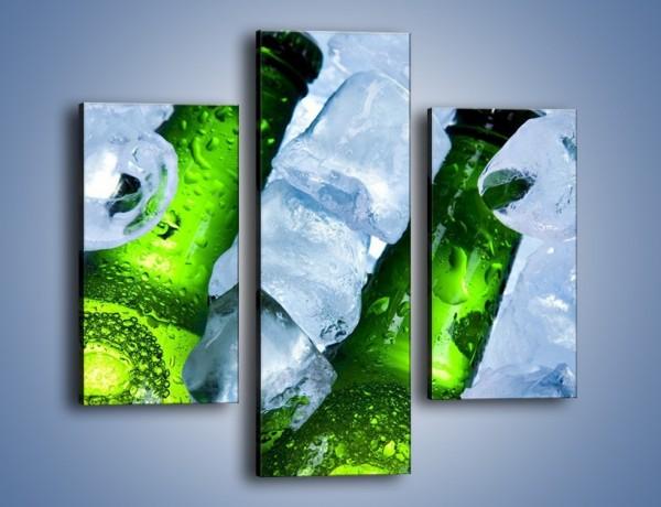 Obraz na płótnie – Czas na zimne piwko – trzyczęściowy JN148W3