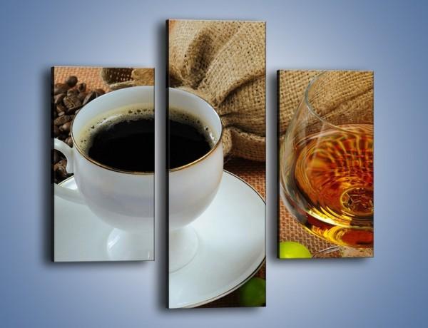 Obraz na płótnie – Wieczorowa kawa z prądem – trzyczęściowy JN166W3