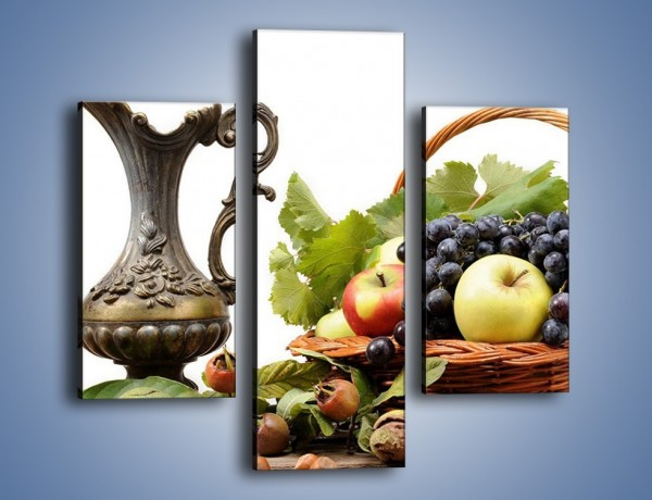 Obraz na płótnie – Orzechowo-owocowy mix – trzyczęściowy JN203W3